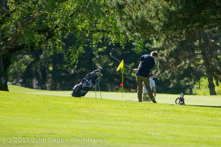 19312 VHS Golf at Vashon Golf and Swim Club 050613