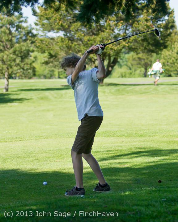 19411 VHS Golf at Vashon Golf and Swim Club 050613