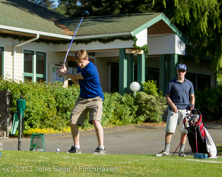 20250 VHS Golf at Vashon Golf and Swim Club 050613