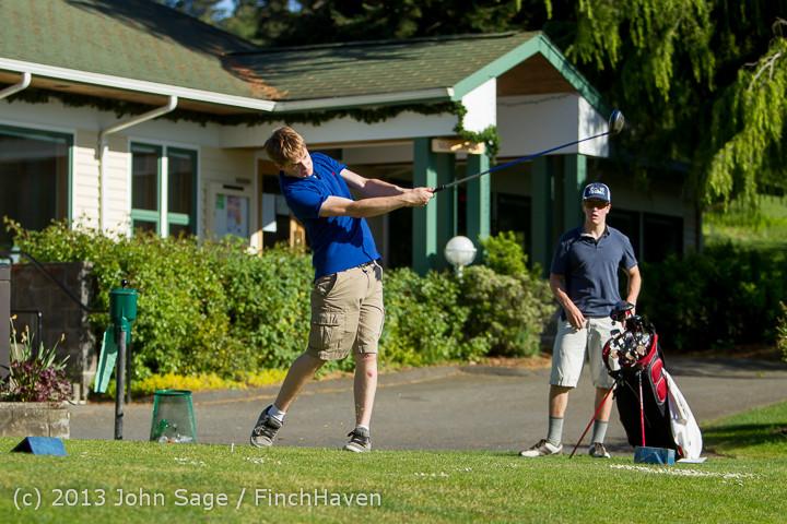 20252 VHS Golf at Vashon Golf and Swim Club 050613
