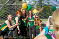 4758 VHS Softball Seniors Night 2014 051414