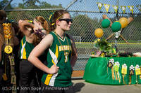 4782 VHS Softball Seniors Night 2014 051414