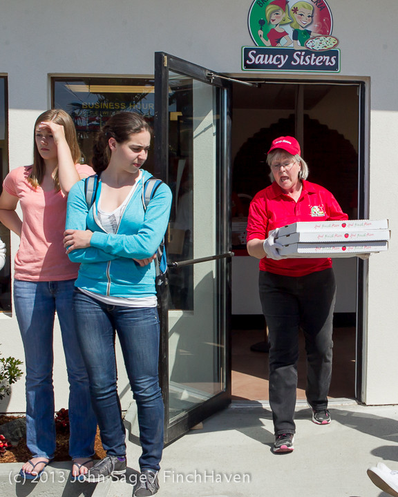 0609 Saucy Sisters Pizza Opening 050813