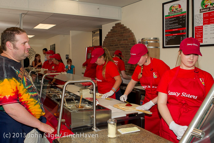 0928 Saucy Sisters Pizza Opening 050813