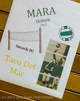 17590 VHS Volleyball Seniors Night 2013 102213