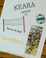 17601 VHS Volleyball Seniors Night 2013 102213