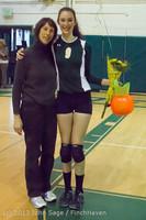18047 VHS Volleyball Seniors Night 2013 102213