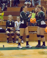 18065 VHS Volleyball Seniors Night 2013 102213