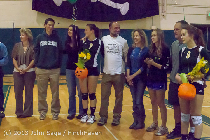 18095 VHS Volleyball Seniors Night 2013 102213