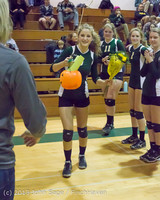 18104 VHS Volleyball Seniors Night 2013 102213
