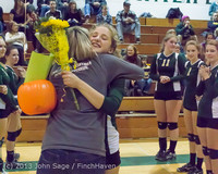 18106 VHS Volleyball Seniors Night 2013 102213