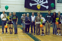 18116 VHS Volleyball Seniors Night 2013 102213