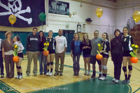 18126 VHS Volleyball Seniors Night 2013 102213