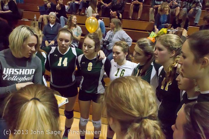 18144 VHS Volleyball Seniors Night 2013 102213