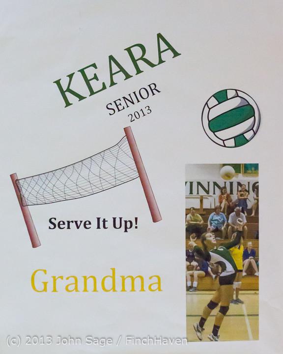 18150 VHS Volleyball Seniors Night 2013 102213