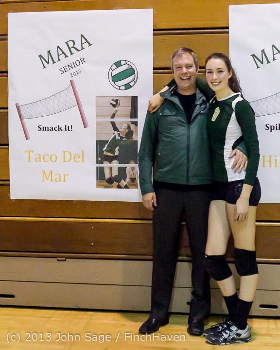 21452-a VHS Volleyball Seniors Night 2013 102213
