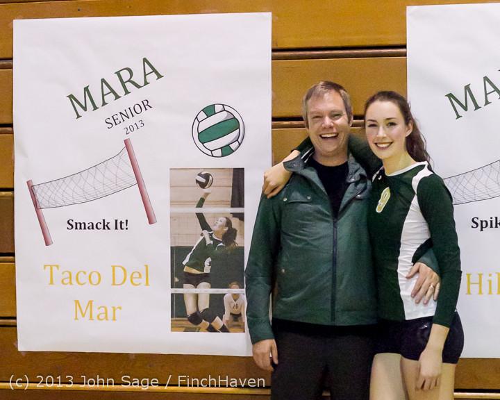 21452-b VHS Volleyball Seniors Night 2013 102213