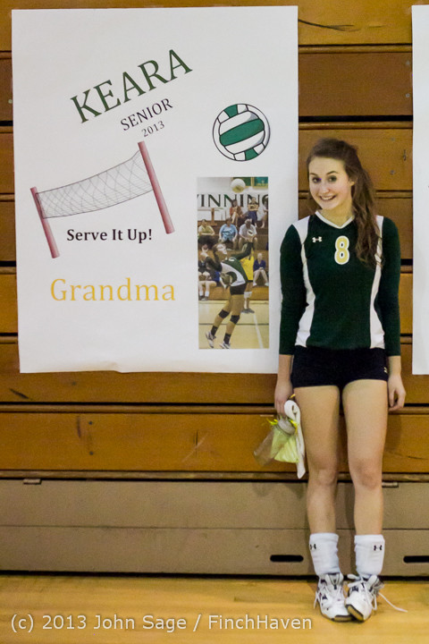 21456-a VHS Volleyball Seniors Night 2013 102213