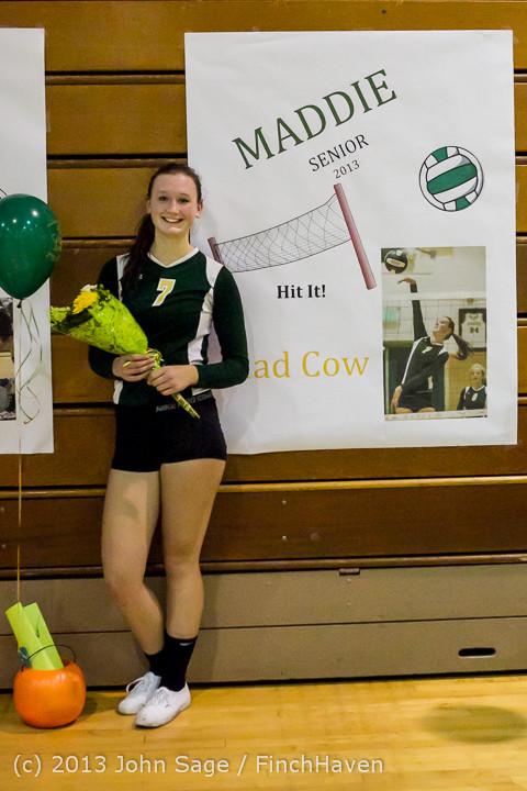 21466-a VHS Volleyball Seniors Night 2013 102213