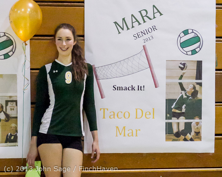 21489-c VHS Volleyball Seniors Night 2013 102213