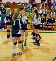 8063 VHS Volleyball Seniors Night 2014 102214