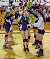 8091 VHS Volleyball Seniors Night 2014 102214