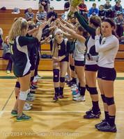 8098 VHS Volleyball Seniors Night 2014 102214