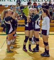 8101 VHS Volleyball Seniors Night 2014 102214