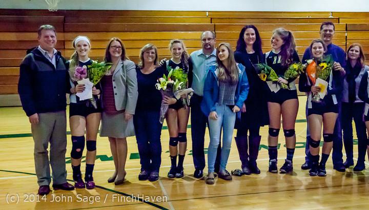 8110 VHS Volleyball Seniors Night 2014 102214