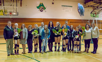 8112 VHS Volleyball Seniors Night 2014 102214