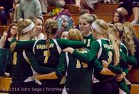 8123 VHS Volleyball Seniors Night 2014 102214