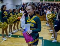 6596 VIHS Basketball Winter Cheer Seniors Night 2015 021015