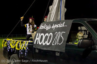 23038 VIHS Homecoming Court and Parade 2015 101615