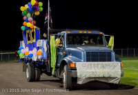 23119 VIHS Homecoming Court and Parade 2015 101615