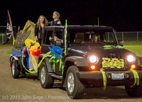 23206 VIHS Homecoming Court and Parade 2015 101615