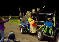 23219 VIHS Homecoming Court and Parade 2015 101615