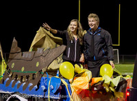 23234 VIHS Homecoming Court and Parade 2015 101615