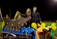 23248 VIHS Homecoming Court and Parade 2015 101615