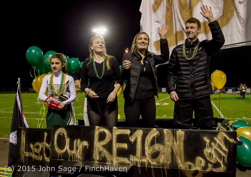 23435 VIHS Homecoming Court and Parade 2015 101615