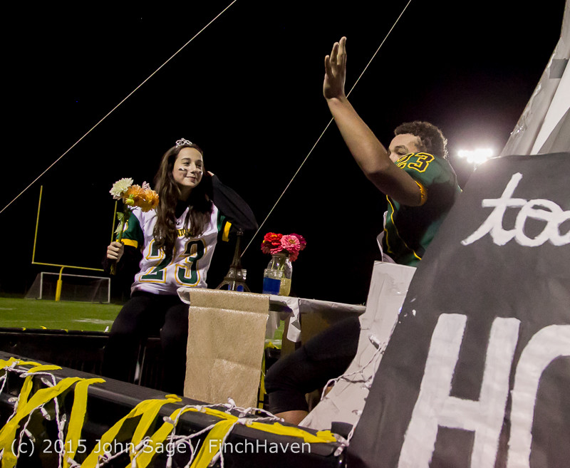 23735 VIHS Homecoming Court and Parade 2015 101615