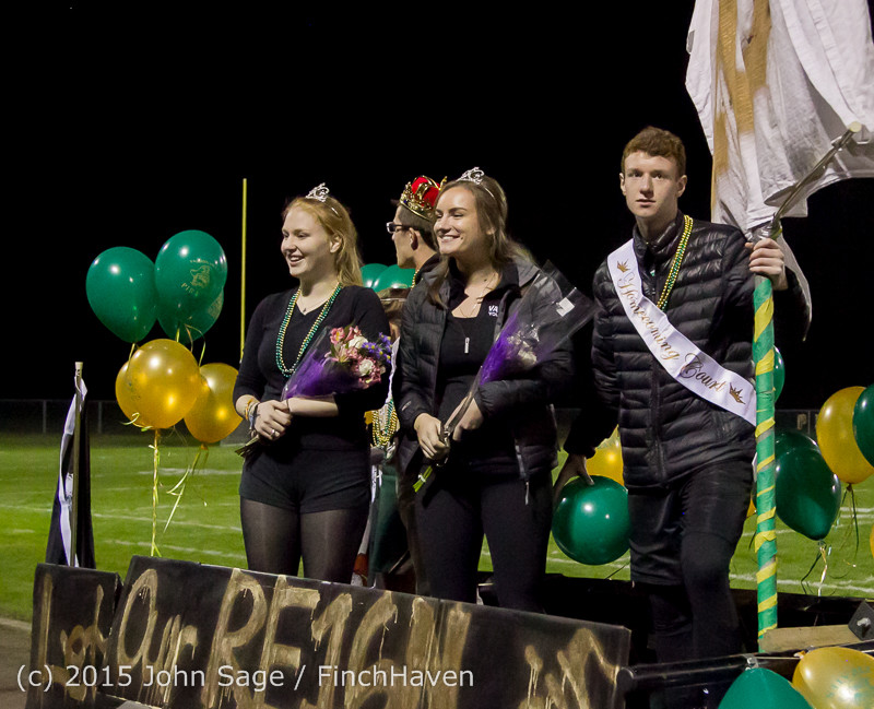 23921 VIHS Homecoming Court and Parade 2015 101615