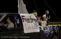 24013 VIHS Homecoming Court and Parade 2015 101615