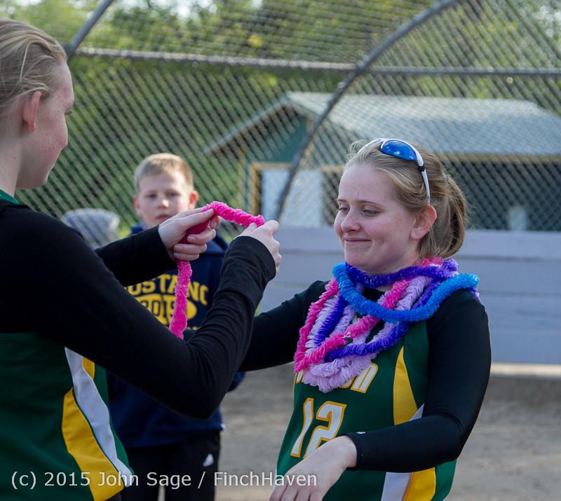 4416 VIHS Softball Seniors Night 2015 042915