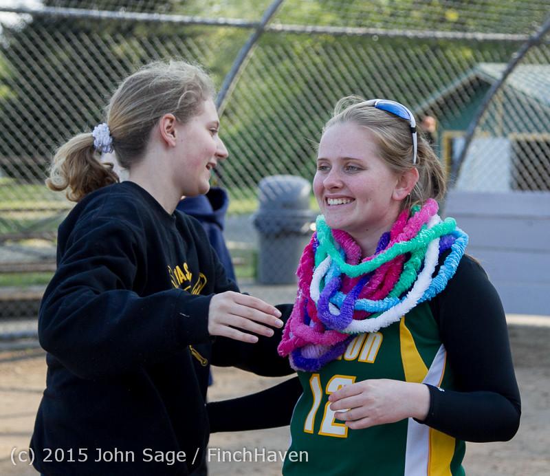 4516 VIHS Softball Seniors Night 2015 042915