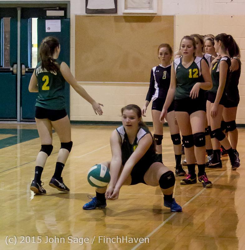 5399 JV Volleyball v Crosspoint 102315