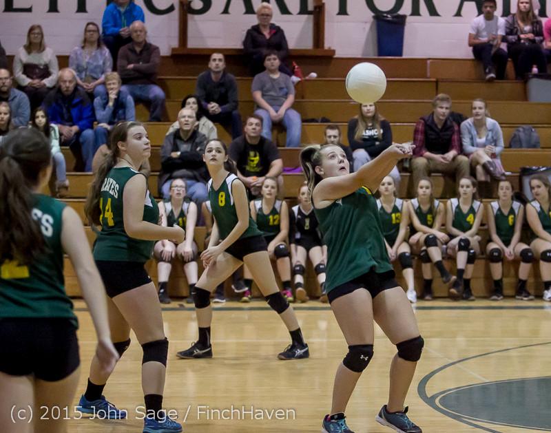 5456 JV Volleyball v Crosspoint 102315