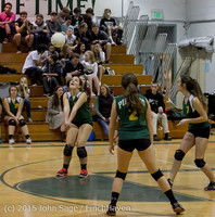 5642 JV Volleyball v Crosspoint 102315