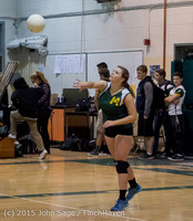5791 JV Volleyball v Crosspoint 102315