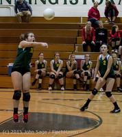 5910 JV Volleyball v Crosspoint 102315