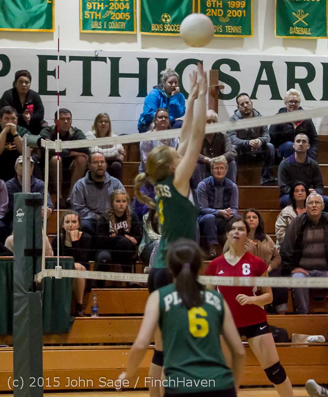 6025 JV Volleyball v Crosspoint 102315